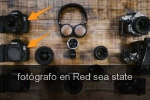 Fotógrafo en Red sea state